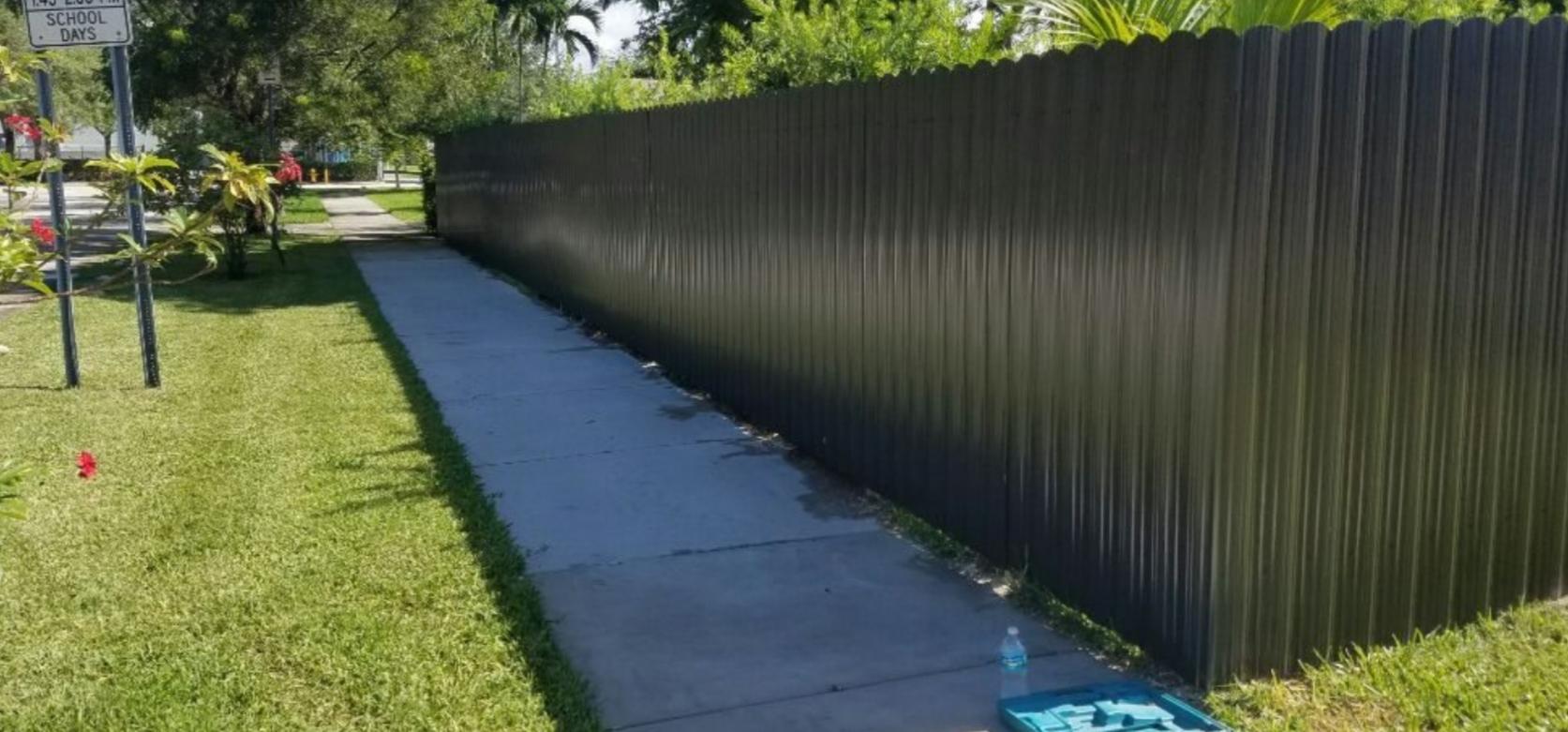 PVC Vinyl Privacy Fence in Weston