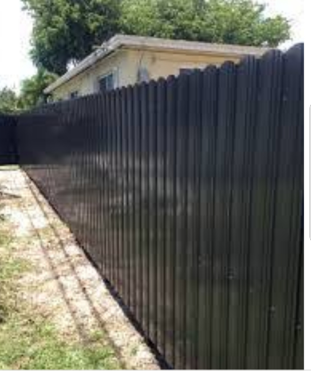 weston pvc privacy fence